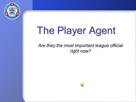 The Player Agent Are they the most important league official right now?