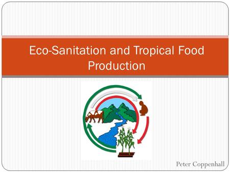 Peter Coppenhall Eco-Sanitation and Tropical Food Production.