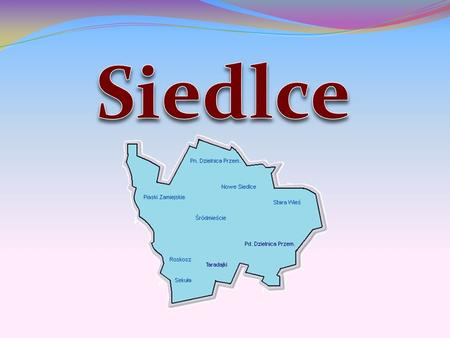 The Emblem of Siedlce Symbols of the city A Logo of Siedlce.