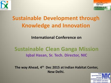 Sustainable Development through Knowledge and Innovation