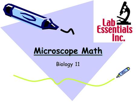 Microscope Math Biology 11.