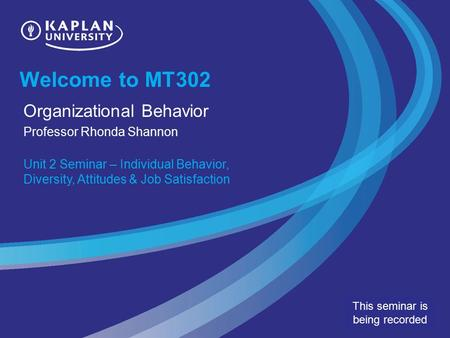 mt302 organizational behavior unit 9 project Nbsp culture based negotiation styles unit 6 assignment mt302 organizational behavior kaplan got full points 50.