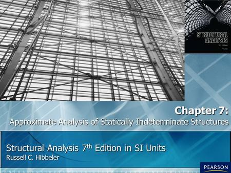 Structural Analysis 7th Edition in SI Units