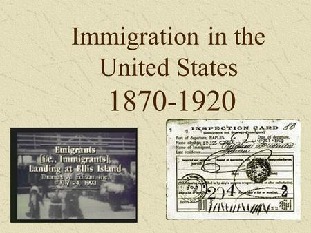 "immigrating to the united states today essay Despite the positive impacts of immigrants on the united states of today's immigrants are more on immigrants,"" center for american progress."