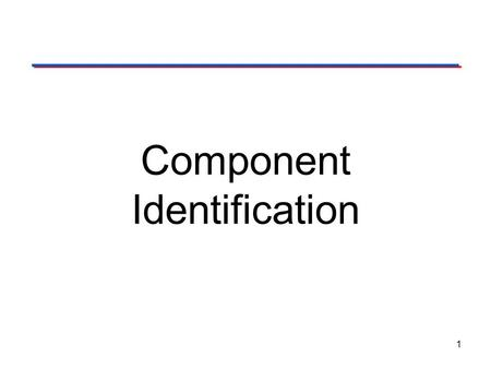 Component Identification 1. 2 This presentation will… Introduce common components used in electronics. Define a resistor and present various resistor.