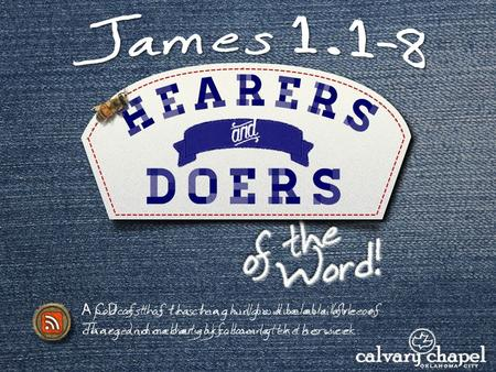 A CD of this teaching will be available (free of charge) immediately following the service A podcast of this teaching will be available on iTunes and calvaryokc.com.