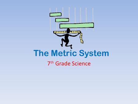 The Metric System 7 th Grade Science. Why we use the metric system: It is used by almost every other country in the world. It is based on 10, so it's.