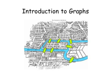Introduction to Graphs. This Lecture In this part we will study some basic graph theory. Graph is a useful concept to model many problems in computer.