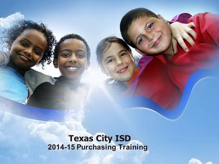 Texas City ISD 2014-15 Purchasing Training. Account Coding.