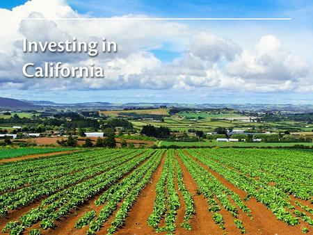 UC ANR is a vital partner, working hand in hand with agriculture to enhance markets help the balance of trade address environmental concerns protect plant.