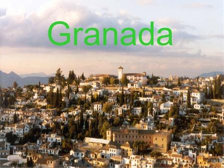 Granada. History Granada was originally known as Ilbyr during the time it was settled by its original native tribes. The Romans built their own city and.