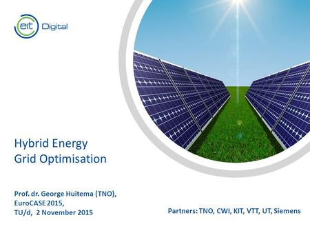 Hybrid Energy Grid Optimisation