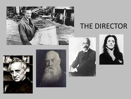 THE DIRECTOR. WHAT WOULD YOU SAY YOU ACTUALLY DO HERE?