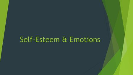 Self-Esteem & Emotions. Learning Log  Name 3 or more mental challenges that you face everyday in school.  e.g.  Low test score  Failing to make a.