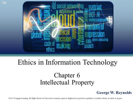 Chapter 6 Intellectual Property