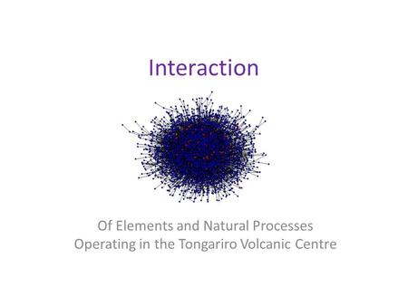 Interaction Of Elements and Natural Processes