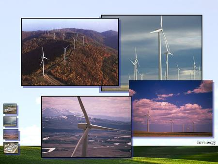 1 Invenergy. Harnessing the Wind Transmission System Typical Wind Park Electrical Transmission System.