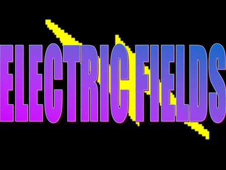 © John Parkinson 1 2 Electric Field An electric field is a region in which charged particles experience a force ELECTRIC FIELD +Q FORCE -Q FORCE Lines.