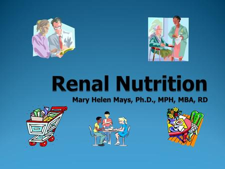 Kidney Disease 2 kidneys Each the size of your fist One on each side of your spine Weight 4-6 ounces each Nephron - the basic functioning unit of the.