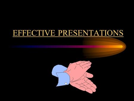 EFFECTIVE PRESENTATIONS THE KEY TO AN EFFECTIVE PRESENTATION Organization Clear focus Definite beginning, middle & end Engage the audience Utilize many.