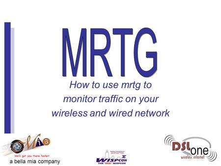 How to use mrtg to monitor traffic on your wireless and wired network a bella mia company.