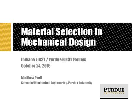 Material Selection in Mechanical Design