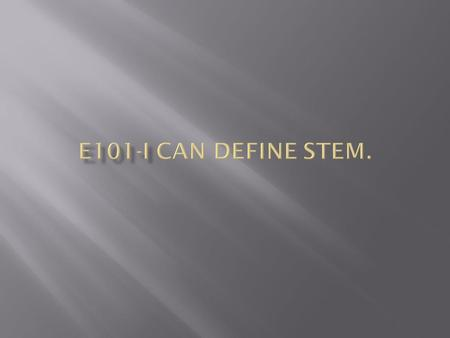  S-Science  T-Technology  E-Engineering  M-Mathematics.