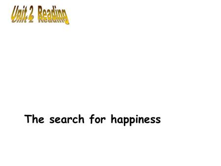 The search for happiness.  Can you name any famous people with disabilities you admire? What do they have in common? Pre-reading.