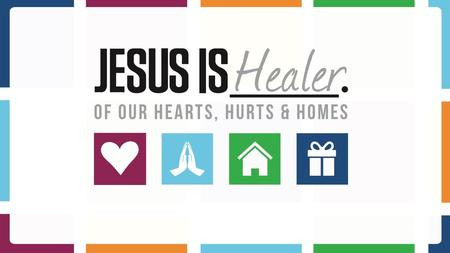 """Jesus said... 'In this world you will have trouble. But take heart! I have overcome the world."" [Jn 16:33] ""Jesus said... 'Heal the sick who are there."