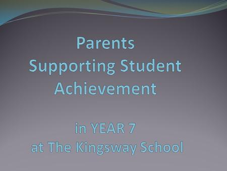 Parental Engagement All parents Everyone can do this well No qualifications needed No cost involved NOT rocket science!