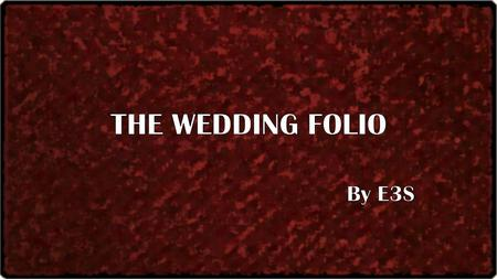 E3S END TO END EVENT SERVICES A Comprehensive Wedding & Private Event Planners.