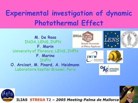 Experimental investigation of dynamic Photothermal Effect