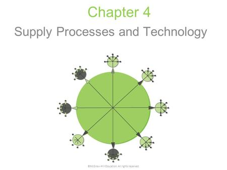 Supply Processes and Technology