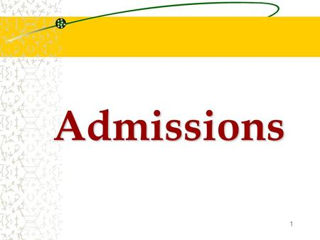1 Admissions. 2 General Admission Around 90 places for non-feeder primary school applicants Interview  ~ 450 shortlisted applicants  Criteria: - information.