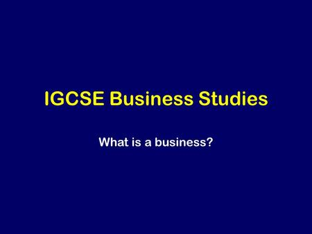 igcse business studies coursework Business studies edexcel coursework - gcse business studies - marked by myfacialangelcom a gcse of zero should only be used if a candidate has submitted work that help found to meet none of the assessment criteria.