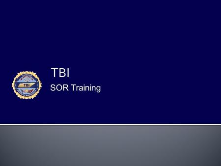 TBI SOR Training. Juvenile Registration JUVENILES  Tennessee Adjudications  14 years of age or more  Occurred on or after 7-1-2011  Offenses: Aggravated.