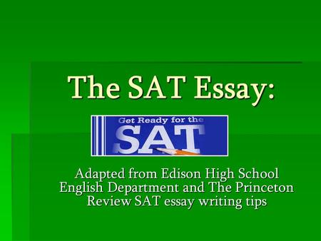 9 sat essay themes Literature/historical examples for sat essay  night before the test and look over the themes & motifs for the books i had read - i got a 9 on the essay (ok.