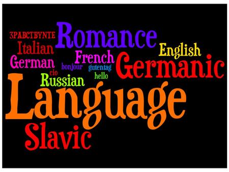 Name the three language families in Europe Most European languages are in 3 main categories Germanic Languages Romance Languages Slavic Languages.
