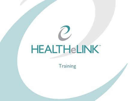 Training. Intro to HEALTHeLINK HEALTHeLINK, the Western New York Clinical Information Exchange (WNYCIE), is a Regional Health Information Organization.