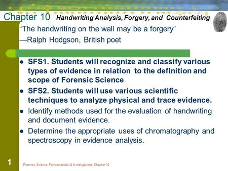 forensic handwriting analysis 12 characteristics