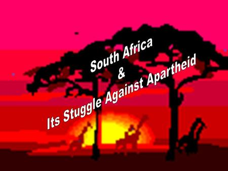 Welcome to South Africa South Africa is a country in transition. It is a combination of both traditional values as well as modern lifestyles.