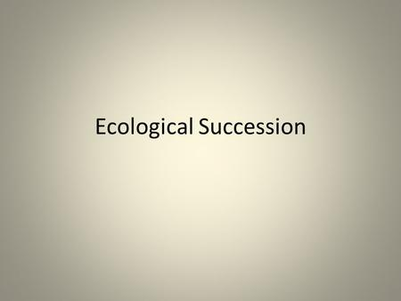 Ecological Succession. With the force of 13,000 atomic bombs, it was the loudest sound in recorded history, and wiped an island off the map. Will it be.
