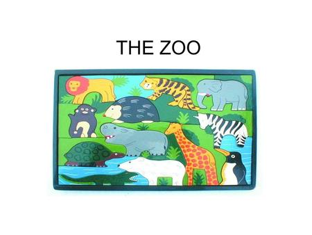 THE ZOO. Science Teks 5) Science concepts. The student knows that organisms, objects, and events have properties and patterns. The student is expected.
