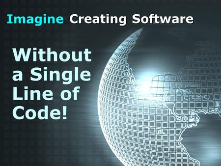 Imagine Creating Software Without a Single Line of Code!