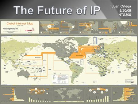 Juan Ortega 8/20/09 NTS300. Right now IPv4 dominates the Internet with some experts believing the need for IPv6 isn't necessary because of NAT. But even.