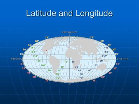 Latitude and Longitude. Latitude and Longitude is one way of expressing absolute location. Houston, TX - They are imaginary lines that circle the globe.