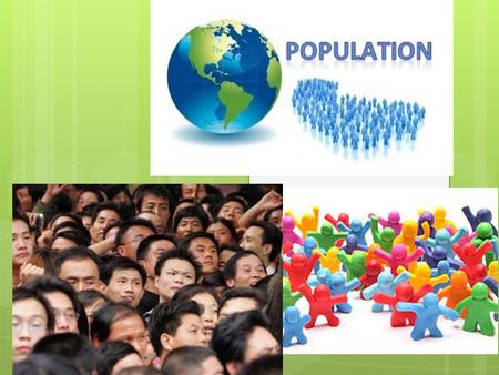 Studying Populations  Geographic Range – varies greatly by species  Density and Distribution-number of individuals per unit area  Growth Rate – depends.