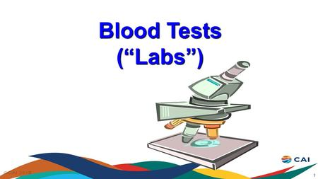"Blood Tests (""Labs"") 1. ""Labs"" Regular blood tests are a crucial part of HIV health care. They are often referred to as ""bloods"" or ""labs"" Several important."