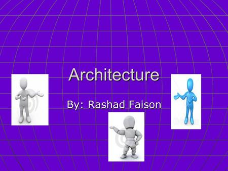 "Architecture By: Rashad Faison. A Adobe ""bricks"" are just tightly pressed earth. Adobe ""bricks"" are just tightly pressed earth."
