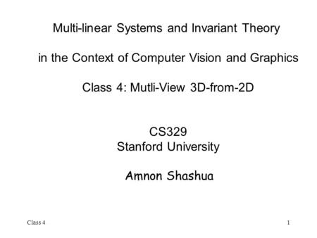 Multi-linear Systems and Invariant Theory